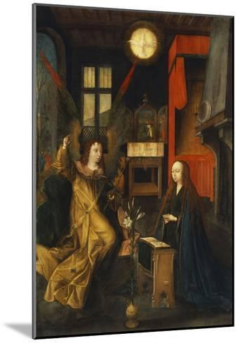 The Annunciation-Jan Provost (Circle of)-Mounted Giclee Print