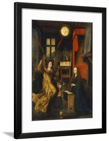 The Annunciation-Jan Provost (Circle of)-Framed Art Print