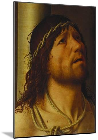 Christ at the Column-Antonello da Messina-Mounted Giclee Print