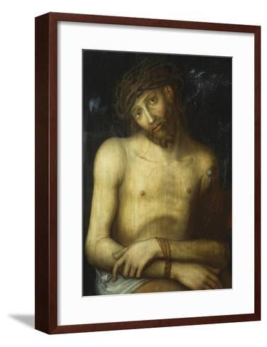 Christ Crowned with Thorns-Lucas Cranach, the elder (Attr to)-Framed Art Print