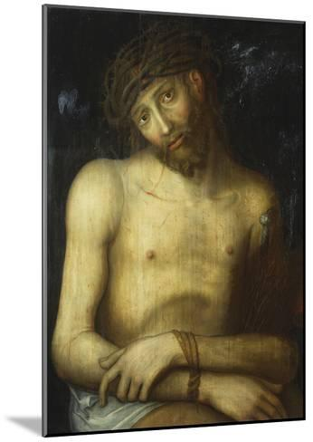 Christ Crowned with Thorns-Lucas Cranach, the elder (Attr to)-Mounted Giclee Print