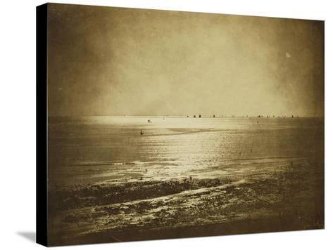Seascape, Normandy, 1856-Gustave Le Gray-Stretched Canvas Print