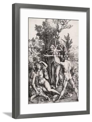 Hercules, or the Effects of Jealousy-Albrecht D?rer-Framed Art Print