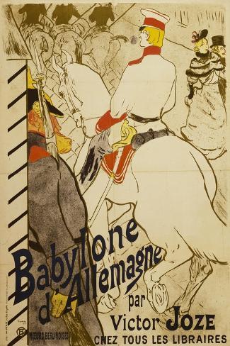 Babylon D'Allemagne-Henri de Toulouse-Lautrec-Stretched Canvas Print