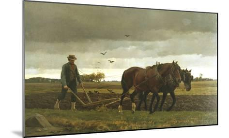 The Ploughman-Frants Henningsen-Mounted Giclee Print