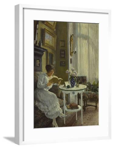 The Afternoon Read-Paul Fischer-Framed Art Print