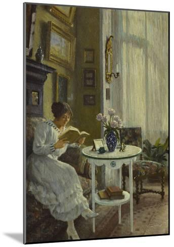 The Afternoon Read-Paul Fischer-Mounted Giclee Print