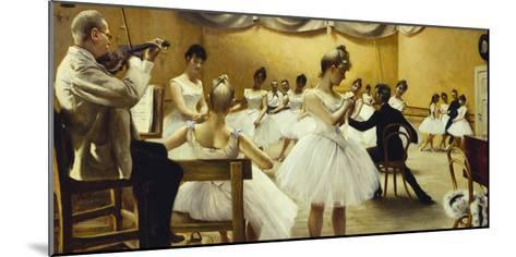 The Royal Theatre's Ballet School-Paul Fischer-Mounted Giclee Print