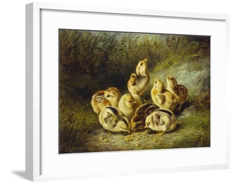 Rather Hard Fare-Arthur Fitzwilliam Tait-Framed Art Print