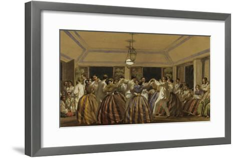 A Ball in the Philippines-C.W. Andrews-Framed Art Print