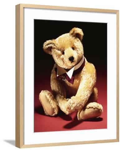 Sotheby', a Fine Steiff Teddy Bear--Framed Art Print