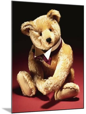 Sotheby', a Fine Steiff Teddy Bear--Mounted Giclee Print