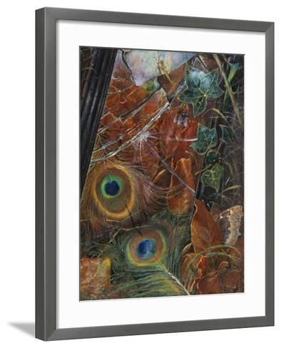 And a Neglected Looking Glass / and the Child Cared Nothing About the Looking Glass'-Eleanor Vere Boyle-Framed Art Print