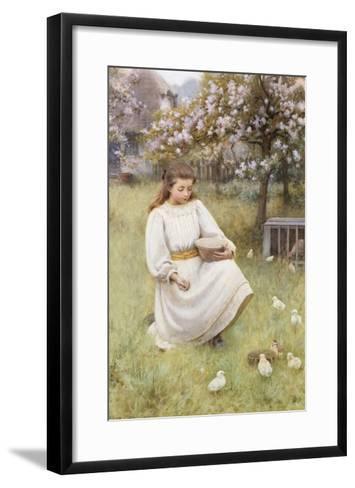 Feeding Time-William Affleck-Framed Art Print