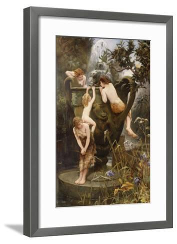 The Fountain of Youth-Charles Napier Kennedy-Framed Art Print