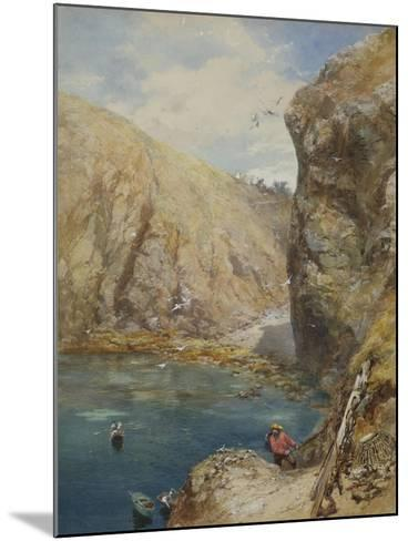 The Landing Place at Havre Gosselin, Sark-Paul Jacob Naftel-Mounted Giclee Print