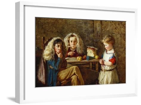 The Trial-Charles Hunt-Framed Art Print