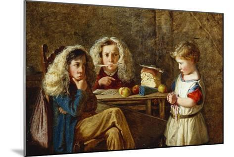 The Trial-Charles Hunt-Mounted Giclee Print