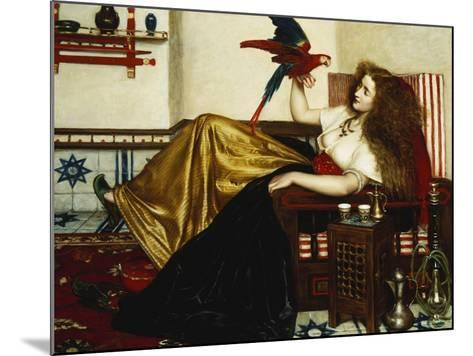 The Lady of the Tootni-Nameh; or the Legend of the Parrot-Valentine Cameron Prinsep-Mounted Giclee Print