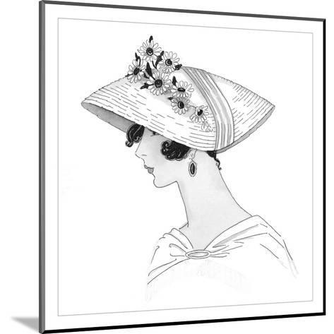 Vogue - October 1925-Claire Avery-Mounted Premium Giclee Print