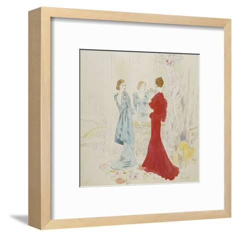 Vogue - February 1934-Cecil Beaton-Framed Art Print