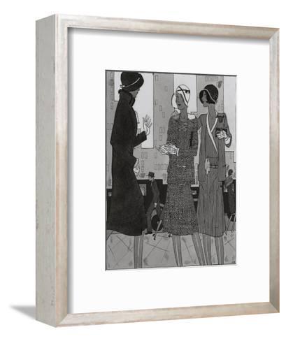 Vogue - August 1929-Jean Pag?s-Framed Art Print