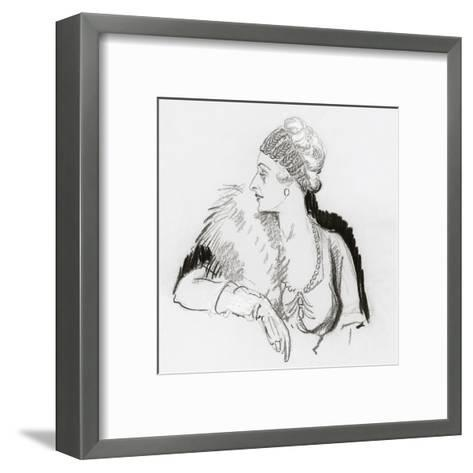 Vogue - December 1936-Porter Woodruff-Framed Art Print