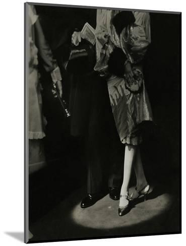 Vogue - December 1926-Edward Steichen-Mounted Premium Photographic Print