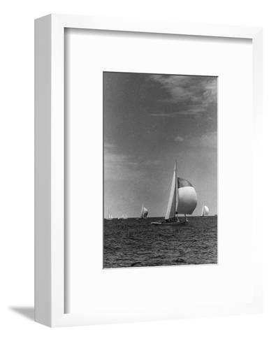 Vogue - September 1958-Toni Frissell-Framed Art Print