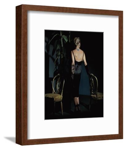 Vogue - December 1943-John Rawlings-Framed Art Print