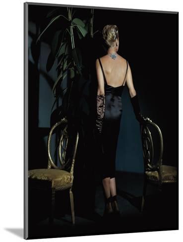 Vogue - December 1943-John Rawlings-Mounted Premium Photographic Print