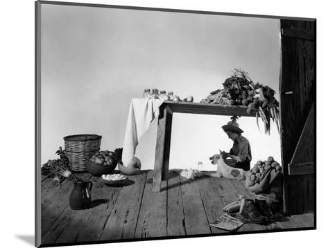 House & Garden - January 1948-Horst P. Horst-Mounted Premium Photographic Print