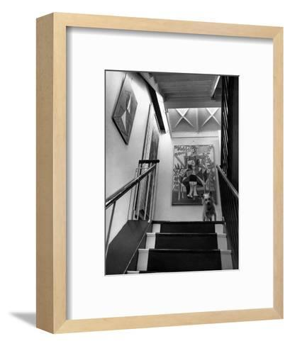 House & Garden - June 1946-Andr? Kert?sz-Framed Art Print