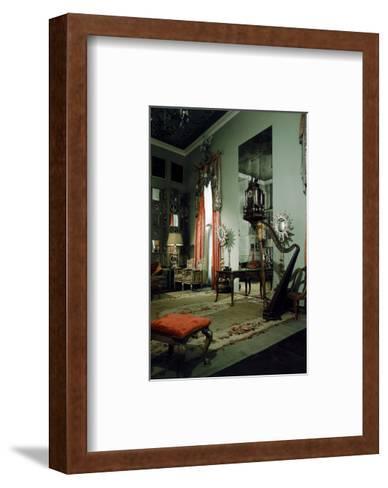 House & Garden - April 1950-Shirley C. Burden-Framed Art Print