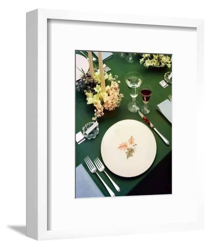 House & Garden - July 1954-Haanel Cassidy-Framed Art Print