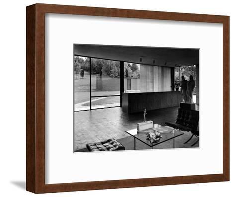 House & Garden - October 1949-Andr? Kert?sz-Framed Art Print