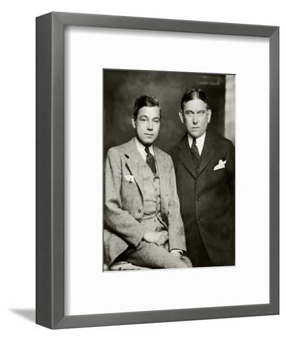 Vanity Fair - January 1929-Ben Pinchot-Framed Art Print