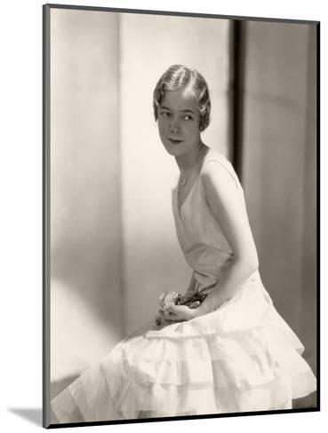 Vanity Fair - August 1929-Edward Steichen-Mounted Premium Photographic Print