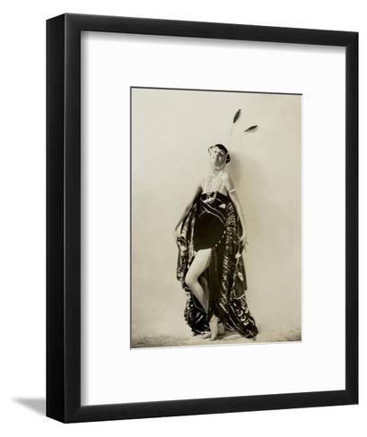 Vanity Fair - October 1922-Ira L. Hill-Framed Art Print