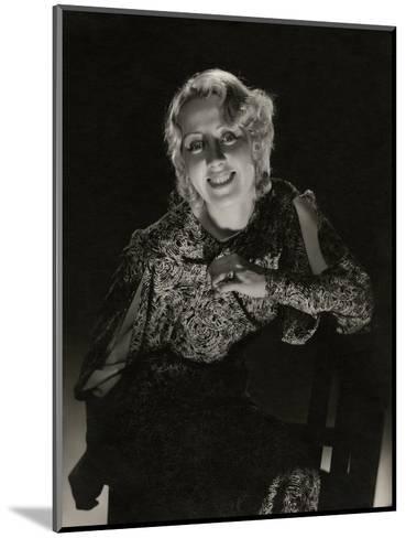 Vanity Fair - May 1933-Edward Steichen-Mounted Premium Photographic Print
