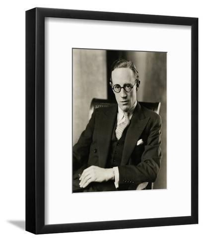 Vanity Fair - January 1928-Edward Steichen-Framed Art Print