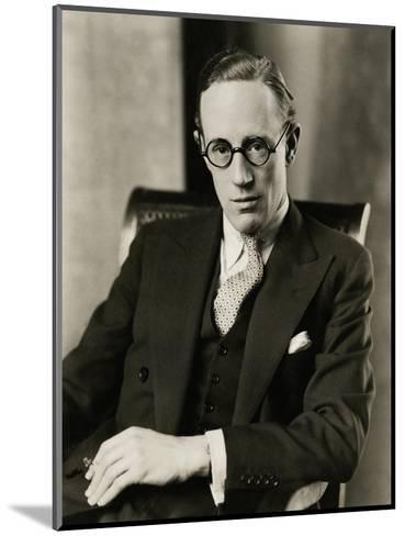 Vanity Fair - January 1928-Edward Steichen-Mounted Premium Photographic Print