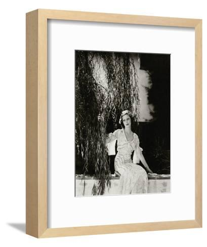 Vanity Fair - July 1933-Edward Steichen-Framed Art Print