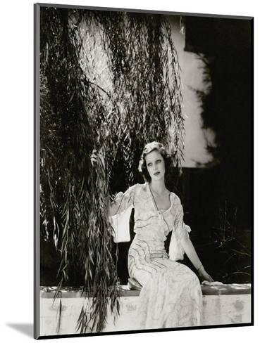 Vanity Fair - July 1933-Edward Steichen-Mounted Premium Photographic Print
