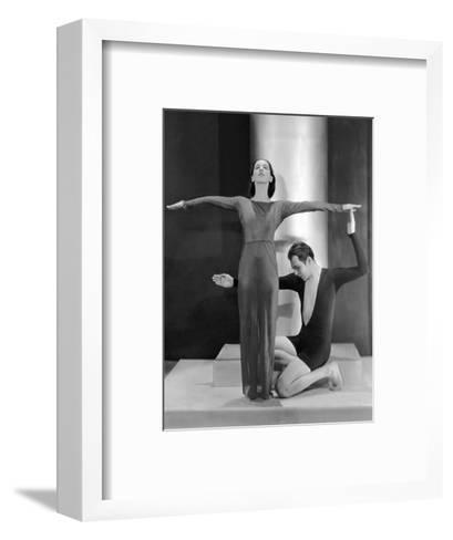 Vanity Fair - March 1930-Nickolas Muray-Framed Art Print