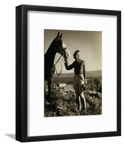 Vanity Fair - July 1933-George Hurrell-Framed Art Print