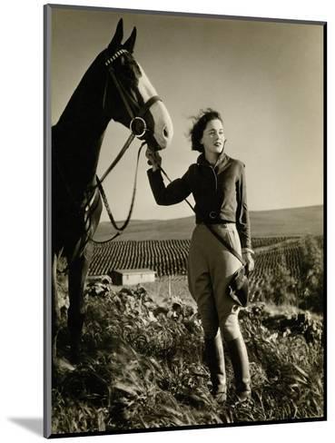 Vanity Fair - July 1933-George Hurrell-Mounted Premium Photographic Print