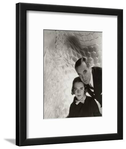 Vanity Fair - July 1934-Cecil Beaton-Framed Art Print