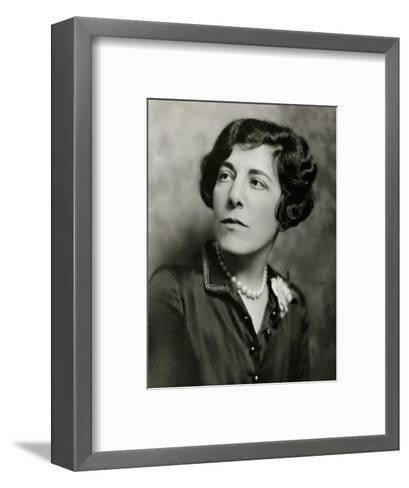 Vanity Fair - December 1924-Nickolas Muray-Framed Art Print