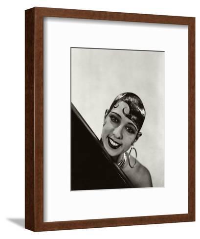 Vanity Fair - October 1934-George Hoyningen-Huen?-Framed Art Print